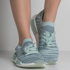 Adidas Women's Blue NMD R1 STLT PK W